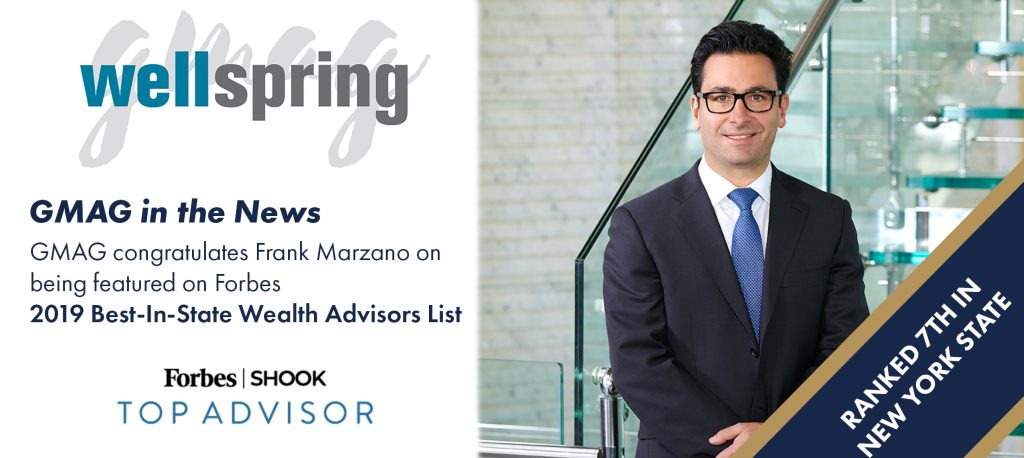GMAG Ranked on Forbes Best-In-State Wealth Advisors List