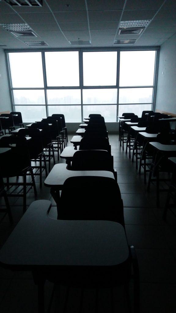 Funding 529 Accounts empty school desks.