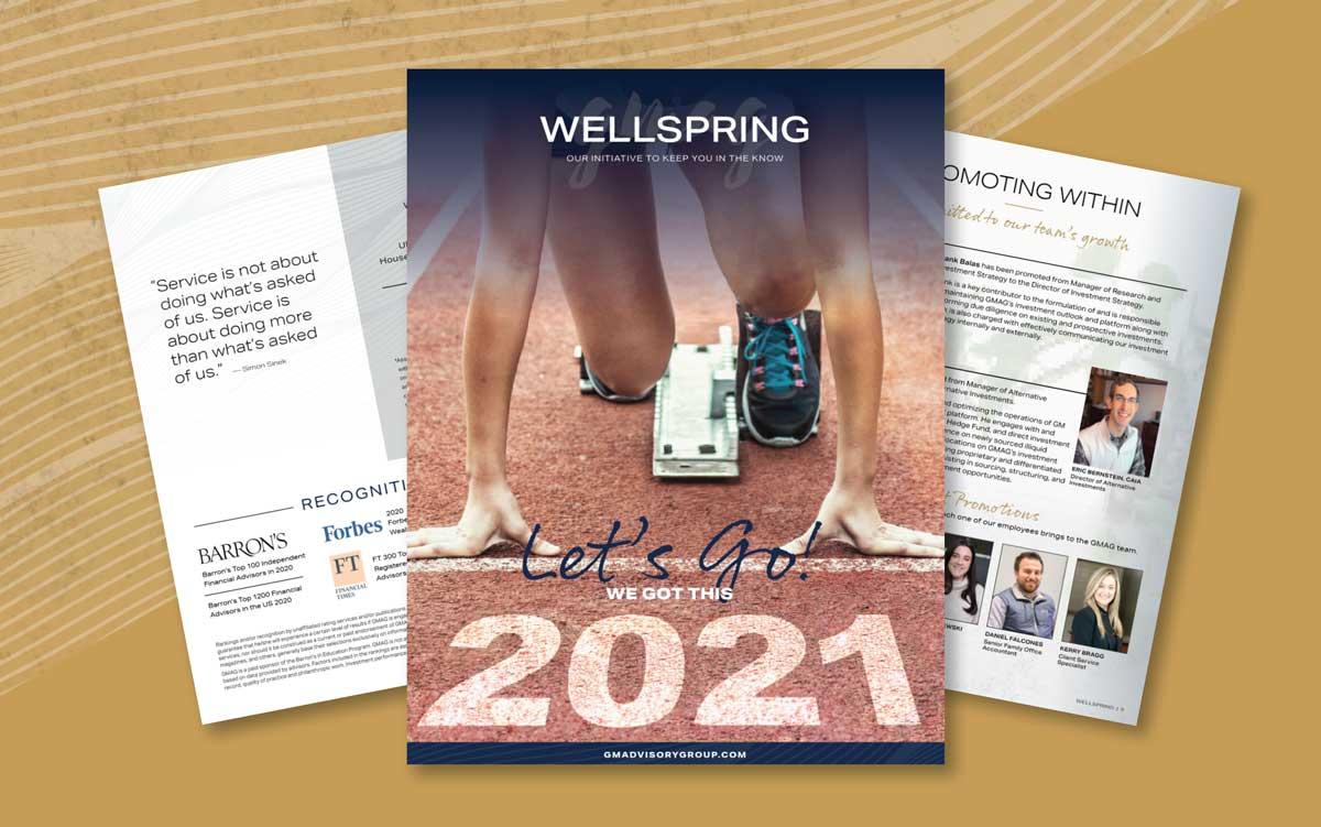 GMAG Wellspring Magazine - 2021 1st Edition