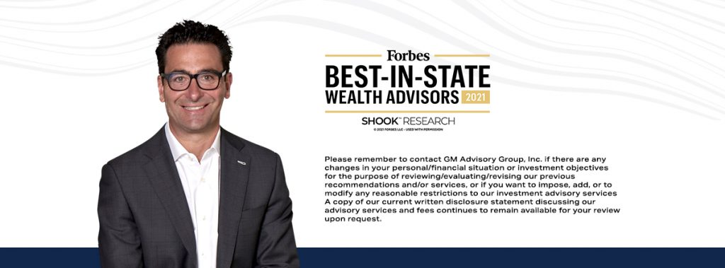 Frank Marzano Forbes Best In State Wealth Advisors
