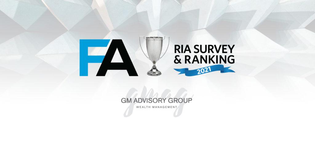 Financial Advisor RIA Survey and Ranking 2021