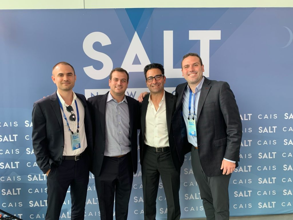 GMAG Investment Team at SALT Conference in NYC